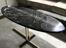 mesa marmol negro